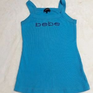 Blue bebe tank